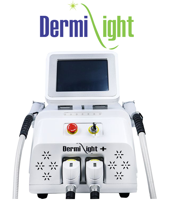 Dermilight plus logo green 07